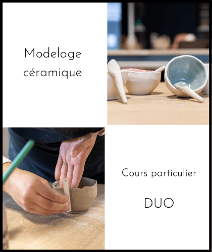 Cours particulier - modelage