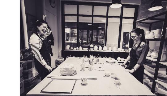 Cours et stages poterie et céramique Audrey Jezic Céramiques