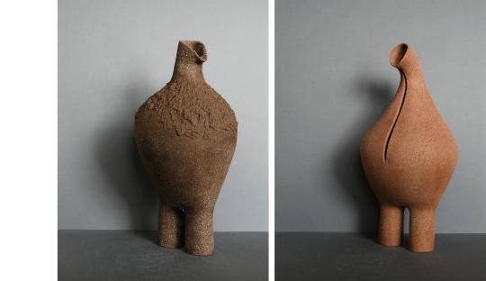 Sculptures grès Grands Dodus Audrey Jezic Céramiques