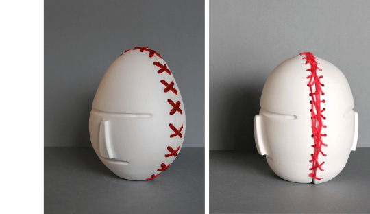 Masques porcelaine Audrey Jezic Céramiques